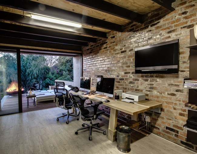 Brick Wall Home Offices That Will Make You Say Wow