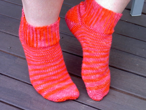 Crochet socks #2