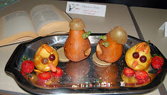 A Comedy of Pears by Amelia Miller and Emma Sheehan at Seattle Edible Book Festival