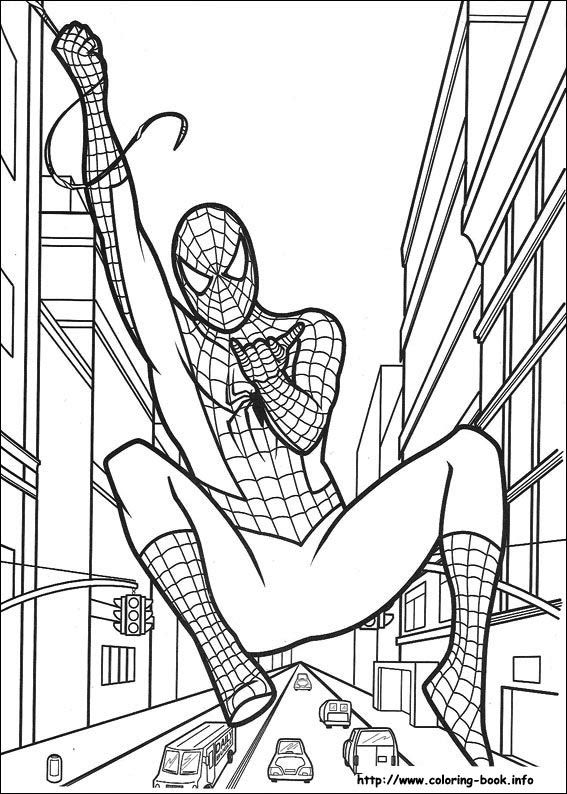 4300 Top Coloring Book Pages Spiderman , Free HD Download