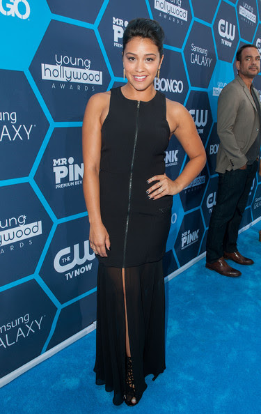 Gina Rodriguez - Arrivals at the Young Hollywood Awards