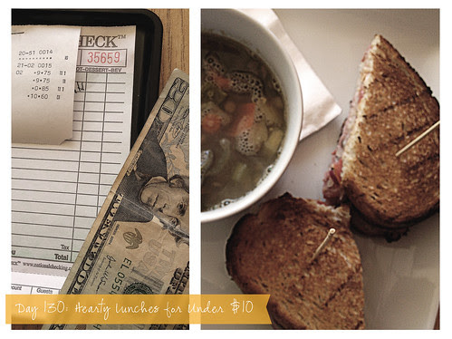 Day 130: Hearty Lunches Under $10