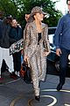 lady gaga rocks head to toe leopard print outfit in nyc04