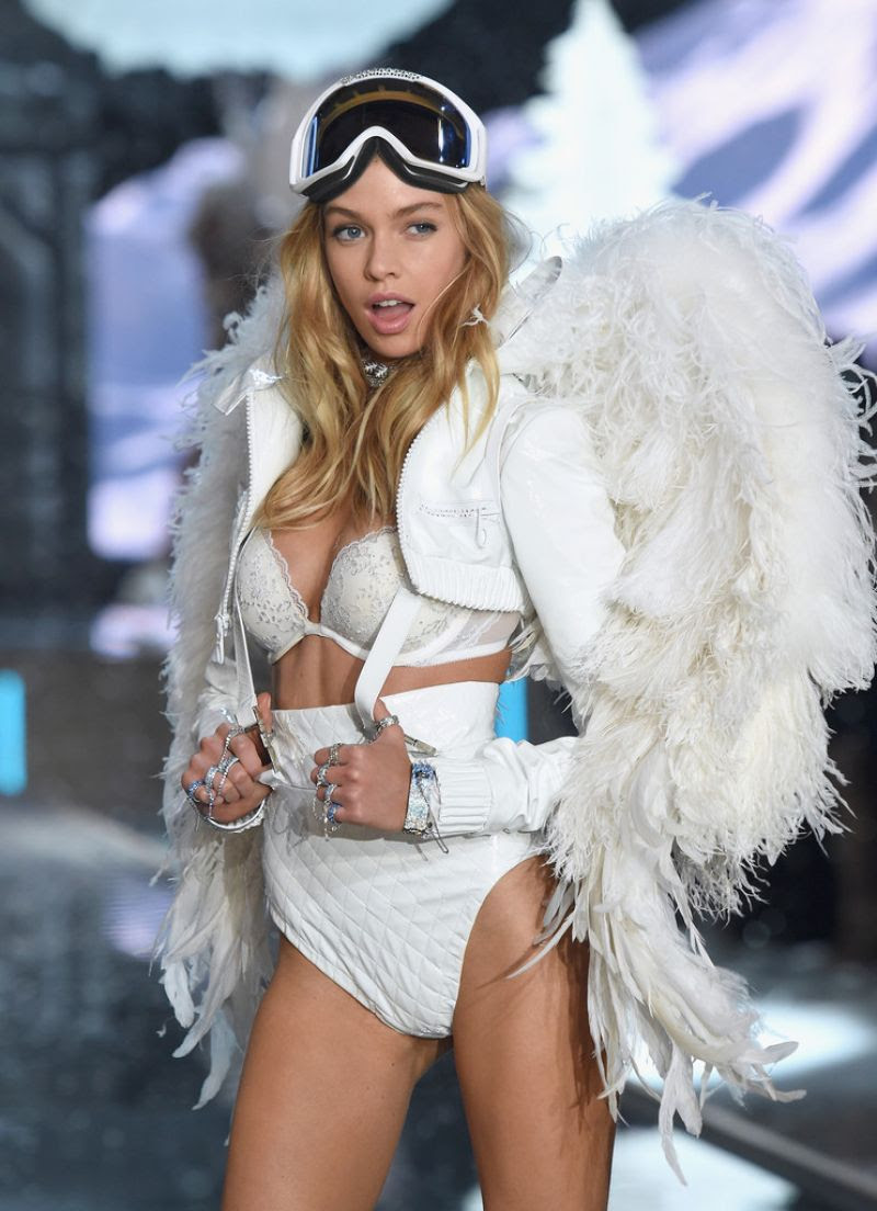 STELLA MAXWELL at Victoria's Secret 2015 Fashion Show in New York 11/10/2015