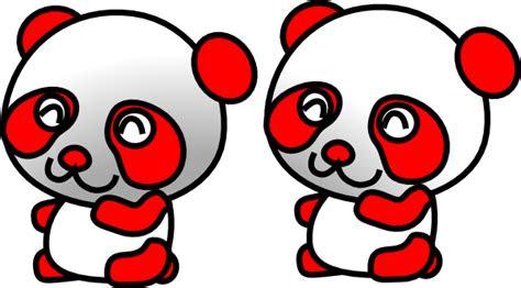 gambar kartun panda lucu clipart library