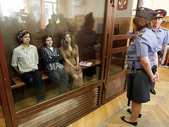 Pussy Riot in court