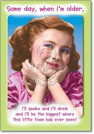 Biggest Whore Birthday Card   Sour Sentiments