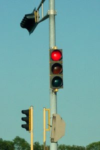 Red stoplight