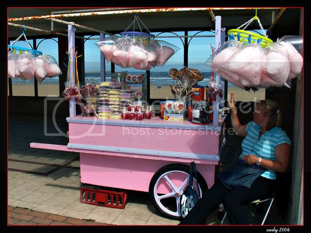 picure, candy floss stall