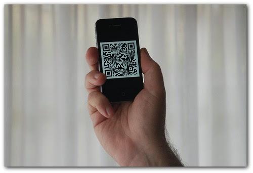 tarjeta de visita en el móvil