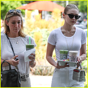 Gigi Hadid Hangs Out with Her Older Sister Marielle in LA