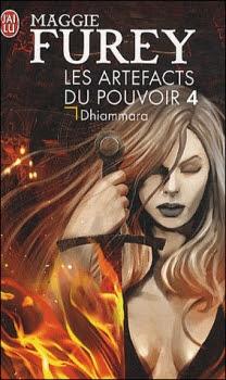 Couverture Les Artefacts du pouvoir, tome 4 : Dhiammara