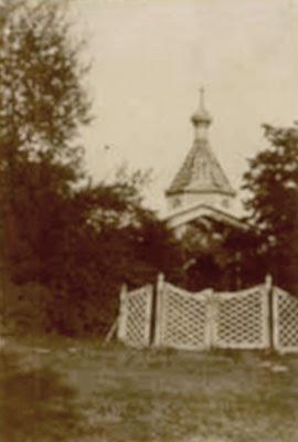 Fotografia cerkwi domowej w Baryczy