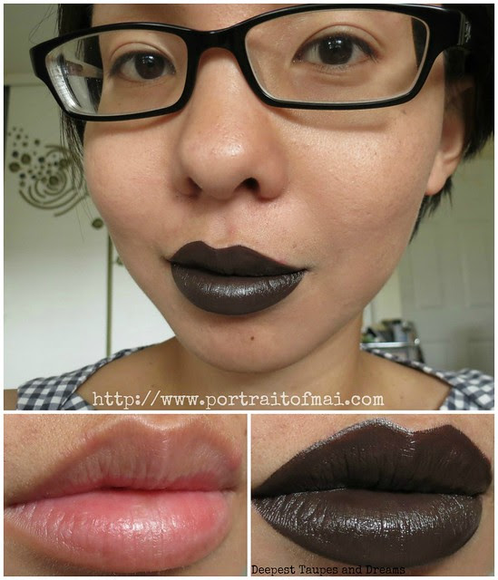 limnit lipsticks Deepest Taupes and Dreams Collage