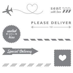 Sent with Love DSP Favorite, stampin up, dawn olchefske, dostamping, travel