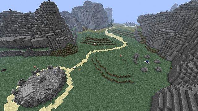 Halo Blood Gulch Minecraft Project