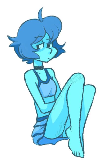 a quick beach outfit lapis doodle