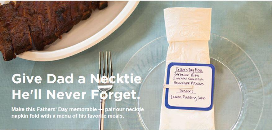 necktie-napkin