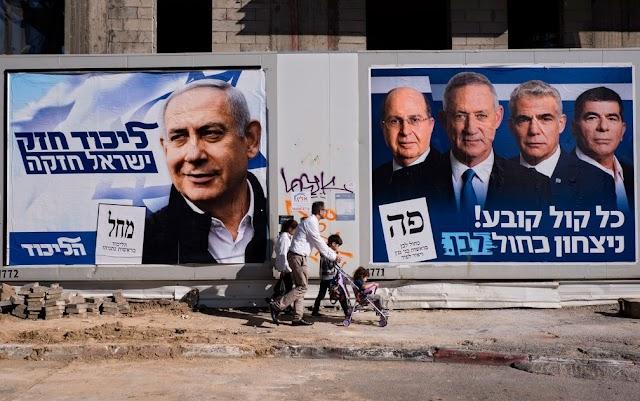 Eleição em Israel a hora da verdade