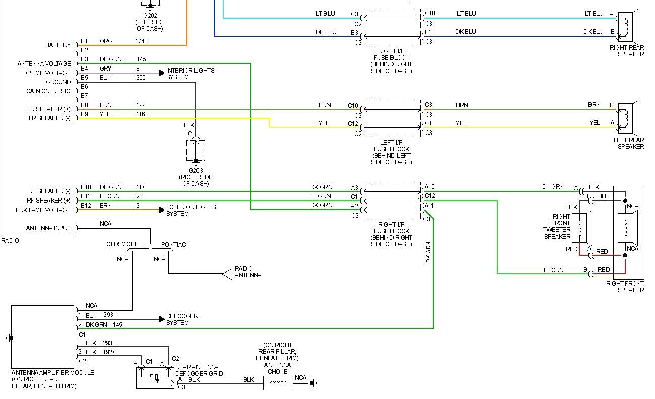 2000 Oldsmobile Intrigue Radio Wiring Diagram Daewoo Matiz Fuse Box For Wiring Diagram Schematics