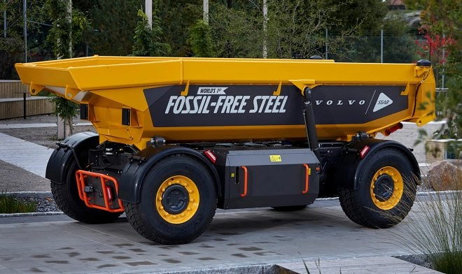 Volvo построила первый в мире грузовик-беспилотник из «экостали»