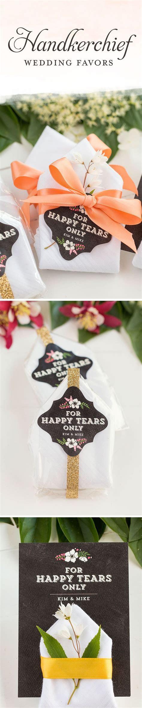 Handkerchief Wedding Favors   Wedding Favor Ideas