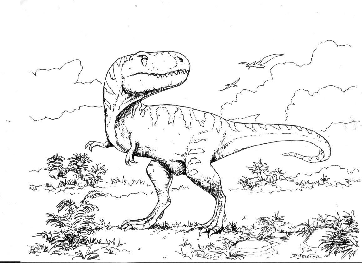 Coloriages à Imprimer T Rex Numéro 315267