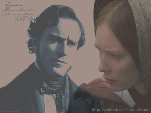 Jane Eyre: Mia Wasikowska & Michael Fassbender