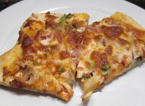 Indian Chicken Pizza