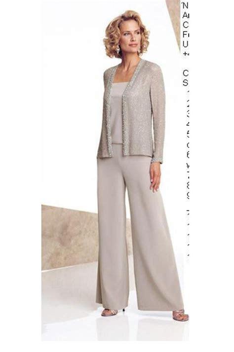 informal elastic pants dressy mother   bride pants