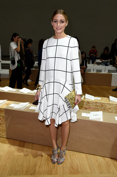 Olivia Palermo Olivia Palermo attends the Chloe show as part of the Paris Fashion Week Womenswear Spring/Summer 2015 on September 28, 2014 in Paris, France.