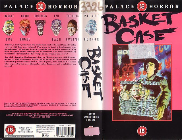 Basket Case (VHS Box Art)