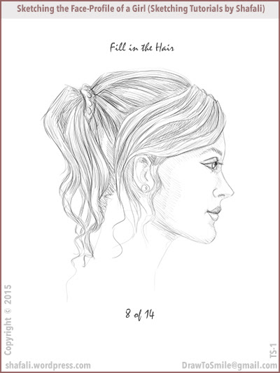 400x533 Sketching Tutorial – How to Sketch the Facial Profile of a