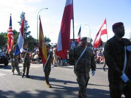 Desfile de abanderados