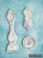Гипсовые украшения от Prima - Ingvild Bolme- Clocks Resins, 3 шт. - ScrapUA.com