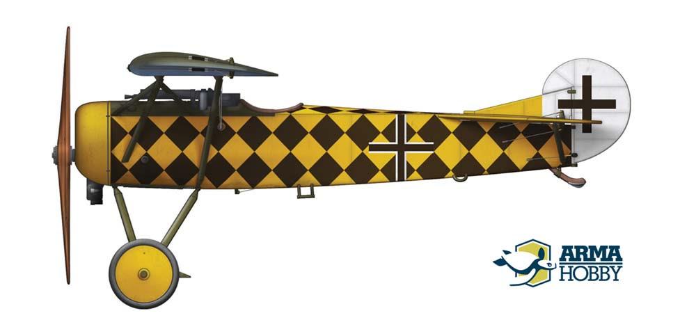Fokker E.V Marine Feld Jasta 1