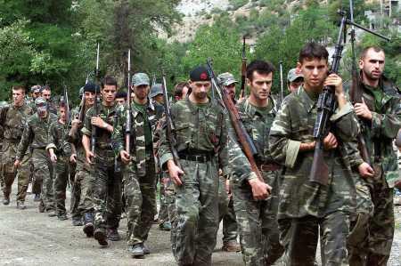NLA/UCK rebels