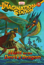 Adventures in Odyssey Imagination Station Book: #11, Hunt for the Devil's Dragon  -              By: Marianne Hering &  Batson