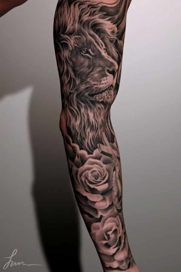 Lion Tattoos For Men Ideas And Image Gallery For Guys