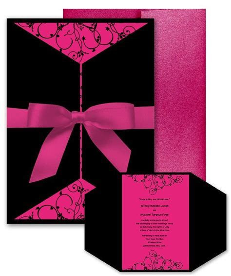 1000  images about Pink, Black and White Wedding Theme on