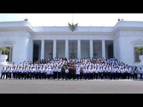 Presiden Jokowi Meresmikan Pembukaan Rakornas BMKG Tahun 2019, Istana Negara, 23 Juli 2019