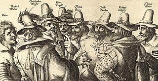 Gundpowder Plot sketch