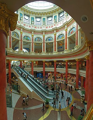 The Trafford Centre is one of the largest shop...