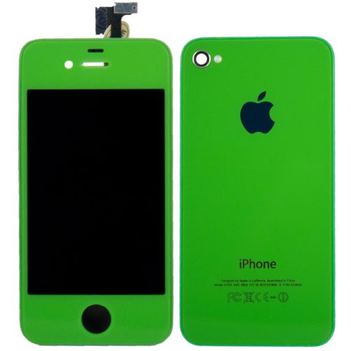Order Green IPhone 4S Front Glass Digitizer +LCD +Back