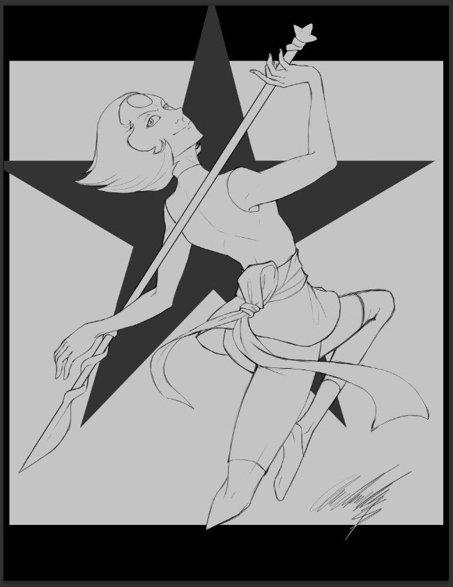 Lines for my Pearl draw. Weee~