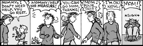 HomeSpun comic strip #768