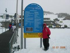 Kat Ski Resort Perisher Blue, Snowy Mountains, Australia