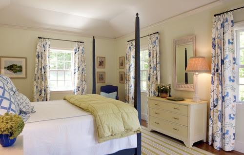 Blue Summer traditional bedroom