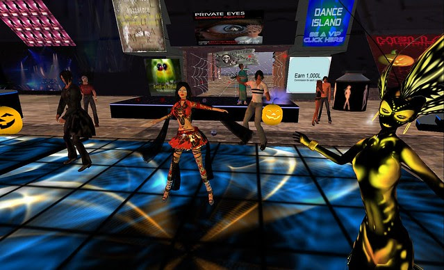 SECOND LIFE DANCE ISLAND