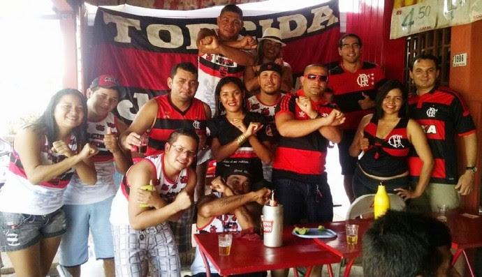 Torcida do Flamengo Roraima (Foto: Tércio Neto)